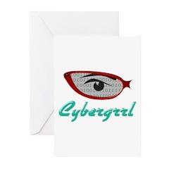 Cybergrrl Greeting Cards (Pk of 10)