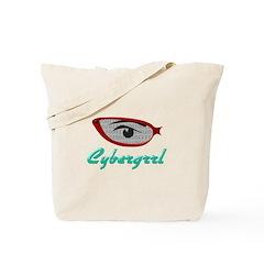 Cybergrrl Tote Bag