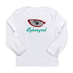 Cybergrrl Long Sleeve Infant T-Shirt
