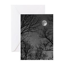 Moonlite Night Greeting Card