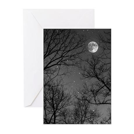 Moonlite Night Greeting Cards (Pk of 10)