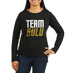 Team Sulu Women's Long Sleeve Dark T-Shirt