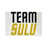 Team Sulu Rectangle Magnet (100 pack)