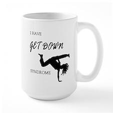 I have get down syndrome Mug