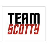 Team Scotty Small Poster