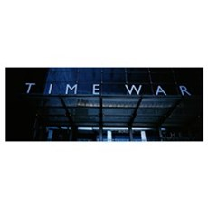 Entrance of a building, Time Warner Center, Midtow Framed Print