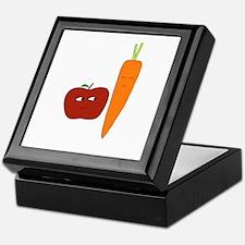 Apple-Carrot Duo Keepsake Box