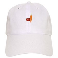 Apple-Carrot Duo Baseball Cap