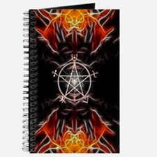 Spell Symbols Book of Shadows Journal ~ Fire