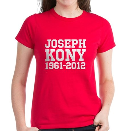 Kony 2012 Women's Dark T-Shirt