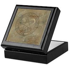 Spell Symbols ~ Marble Keepsake Box