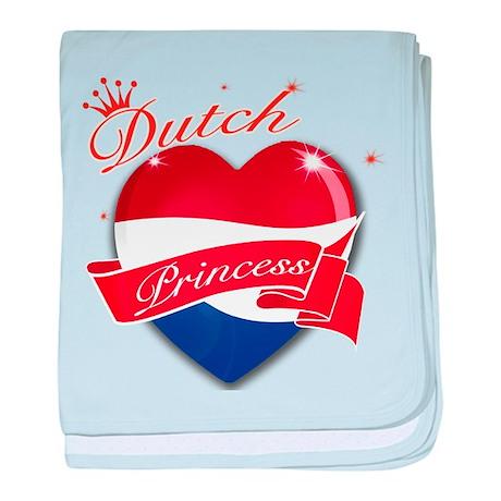 Dutch Princess baby blanket