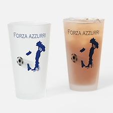 Forza Azzurri Drinking Glass