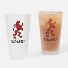 Budapest Lion Drinking Glass
