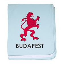 Budapest Lion baby blanket
