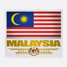 """Malaysian Pride"" Throw Blanket"