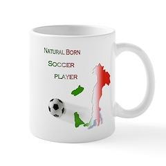 Natural born soccer player Mug