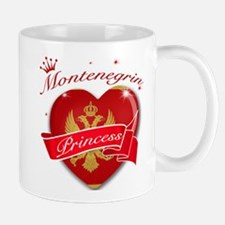 Montenegrin Princess Mug