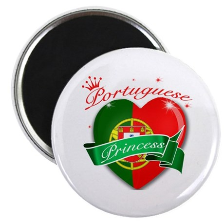 "Portuguese Princess 2.25"" Magnet (100 pack)"