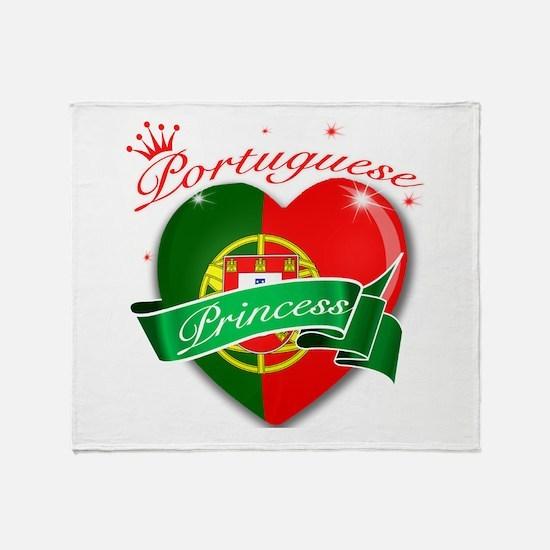 Portuguese Princess Throw Blanket