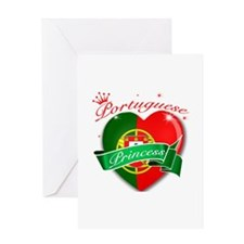 Portuguese Princess Greeting Card