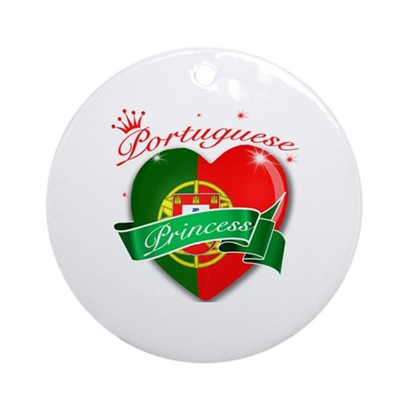 Portuguese Princess Ornament (Round)