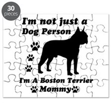 Boston Terrier Mommy Puzzle