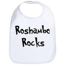 Roshambo Rocks Bib