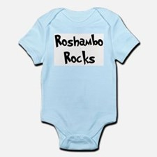 Roshambo Rocks Infant Creeper