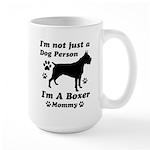 Boxer Mommy Large Mug