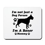 Boxer Mommy Mousepad
