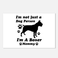 Boxer Mommy Postcards (Package of 8)