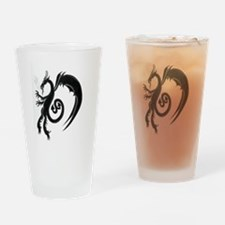 Jersey Devil Drinking Glass