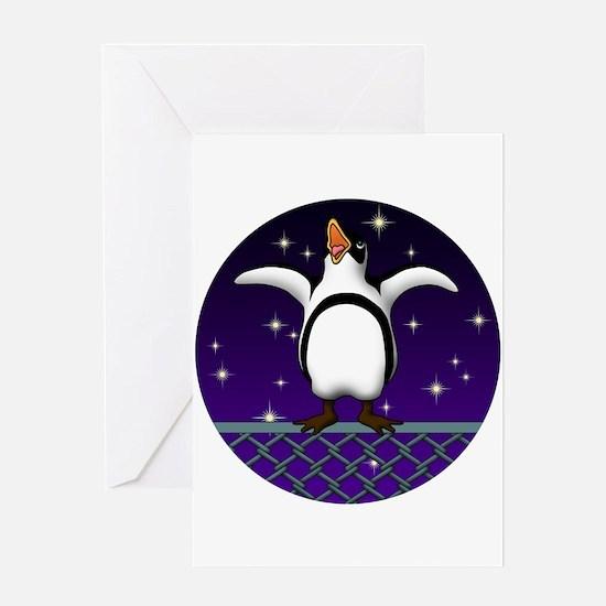 Penguin5 Greeting Card