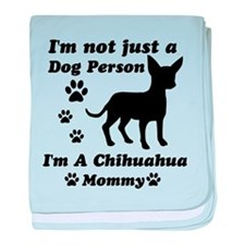 Chihuahua Mommy baby blanket