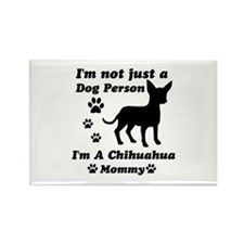 Chihuahua Mommy Rectangle Magnet