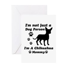 Chihuahua Mommy Greeting Card