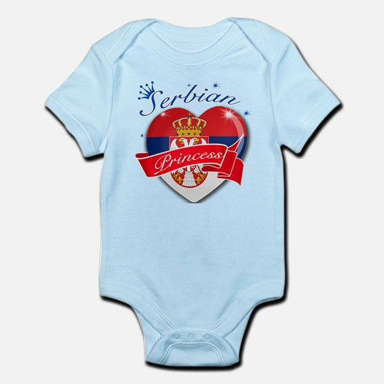Serbian Princess Infant Bodysuit