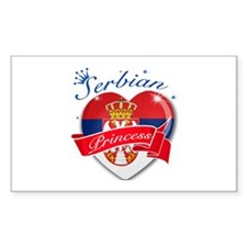 Serbian Princess Decal