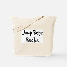 Jump Rope Rocks Tote Bag