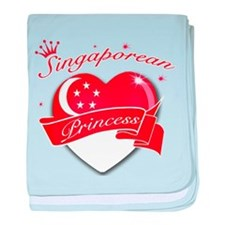 Singaporean Princess baby blanket