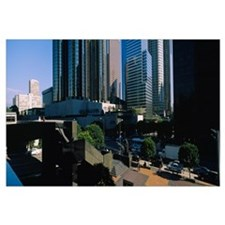 Skyscrapers in a city, Los Angeles, California