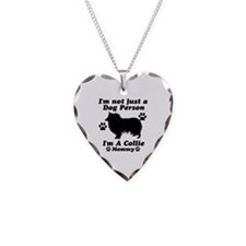 Collie Mommy Necklace