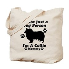 Collie Mommy Tote Bag