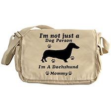Dachshund Mommy Messenger Bag