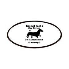 Dachshund Mommy Patches