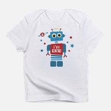 Robot 1st Birthday Infant T-Shirt