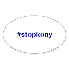 #stopkony blue Decal