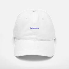 #stopkony blue Baseball Baseball Cap