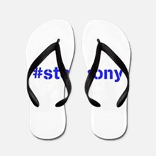 #stopkony blue Flip Flops